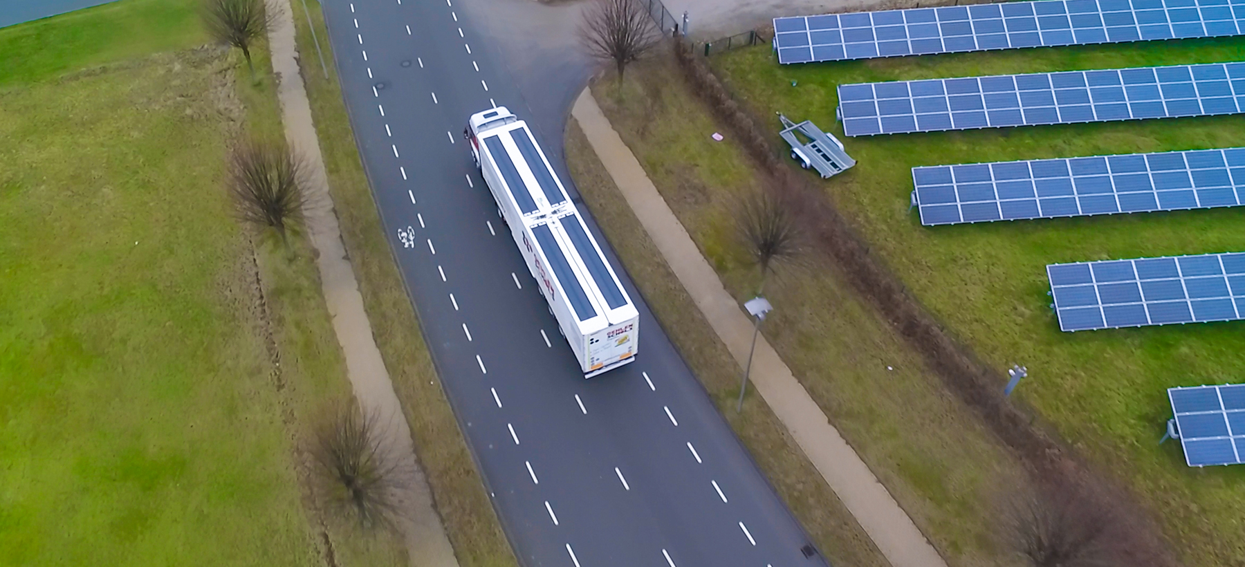 solar energy for trucks and semi-trailers